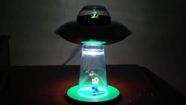 Instructable Show Make Alien Abduction Lamp