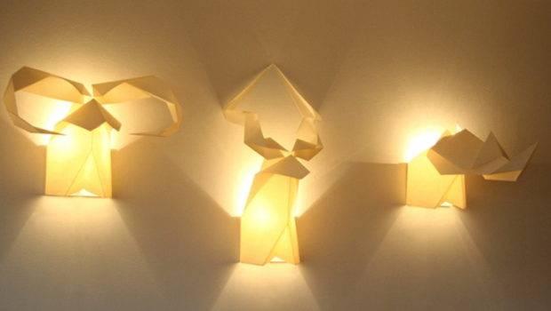 Interesting Lamp Origami Ideas Home Garden Bedroom Kitchen