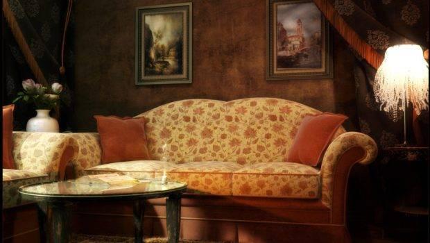 Interesting Victorian Living Room Vintage Fireplace
