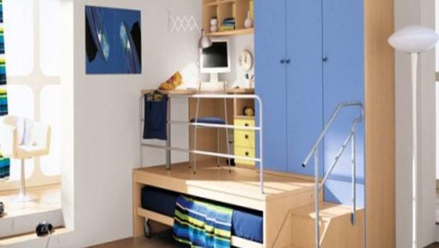 Interior Bedroom Custom Boys Loft Bed Desk Furniture Designs