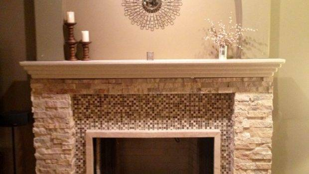 Interior Cool Fireplace Mantel Kits Your Room