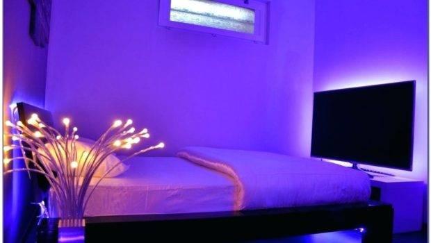 Interior Cool Lights Bedroom