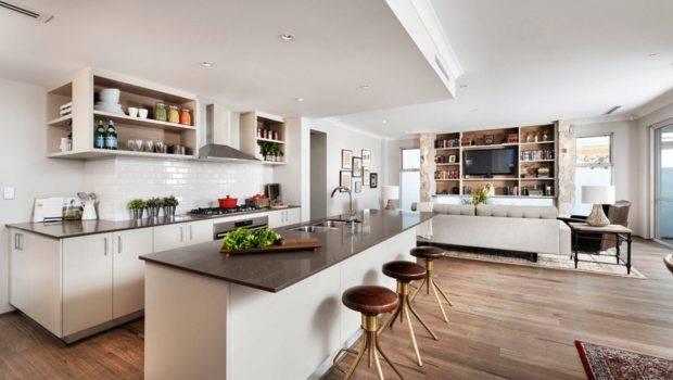 Interior Design Concept Open Floor Plans Trend Modern Living