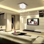 Interior Design Living Room White Wall Units