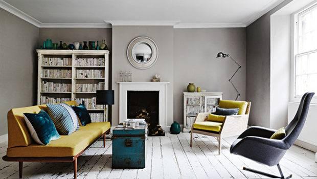 Interior Design Modern Georgian Home Dustjacket Attic