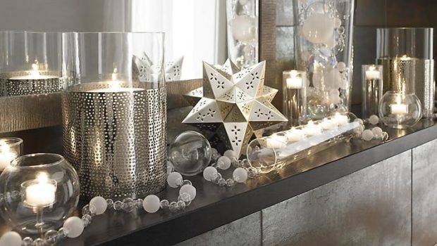 Interior Design Setting Christmas Decoration Crate
