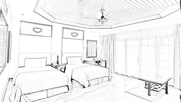 Interior Design Sketches Room Sketch Lecturer Restaurant Ideas