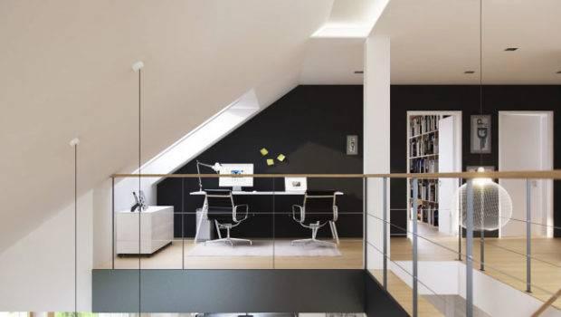 Interior Designs Small Homes Loft Home Office
