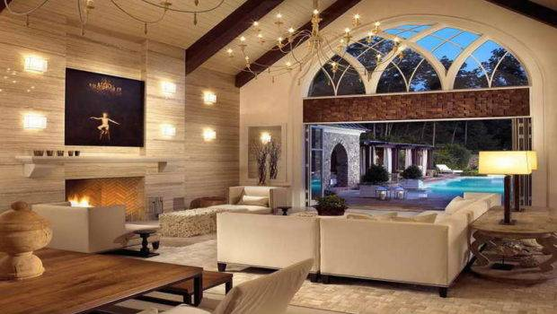 Interior Fantastic Pool House Design