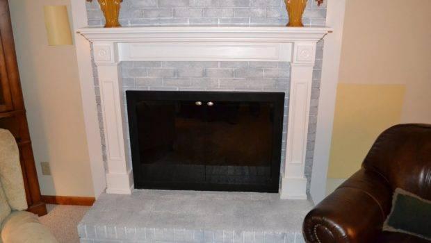 Interior Fireplace Makeover