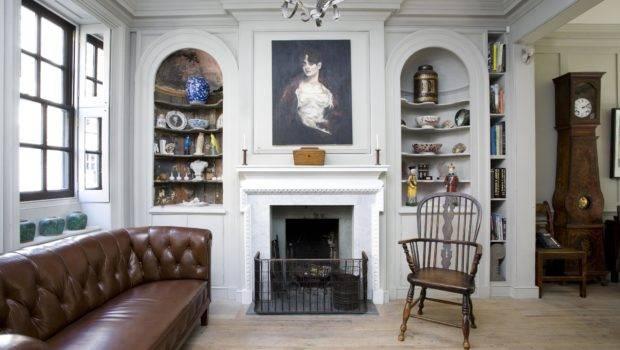 Interior Princelet Street Spitalfields Built Circa