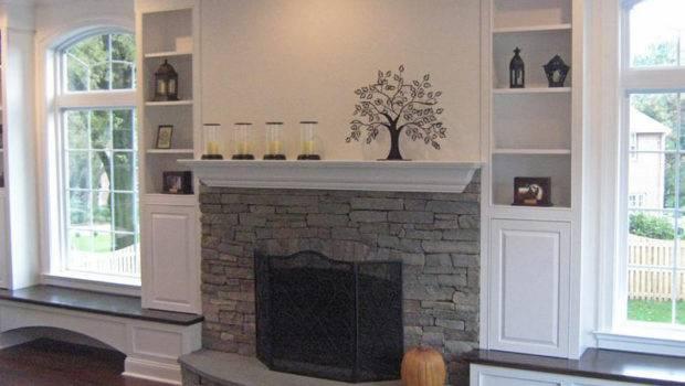 Interior Stone Veneer Fireplace Harbour Mist Pinnacle