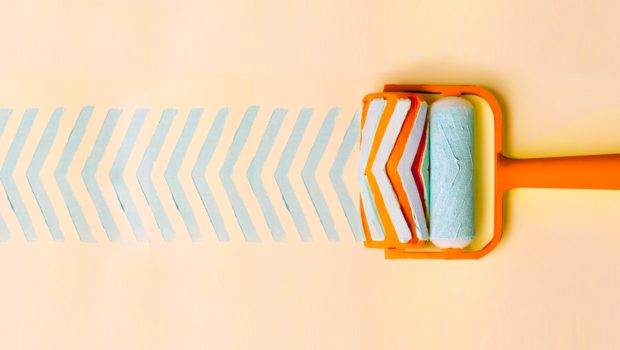 Introducing Chic Printed Patterned Paint Rollers Dprint