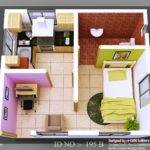 Isometric Views Small House Plans Home Appliance