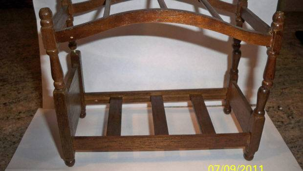 Items Similar Vintage Four Poster Bed Canopy Dolls