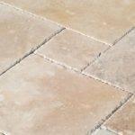 Izmir Travertine Tile Pattern Sets Brushed Filled