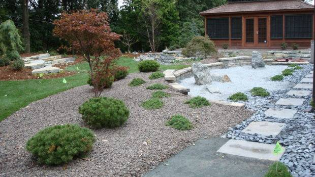 Japanese Garden Project After