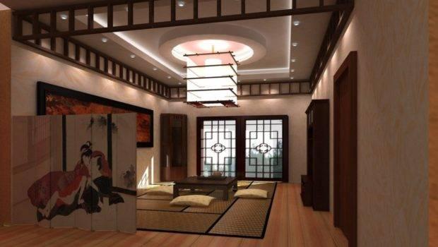 Japanese Living Room Interior Design Ideas House
