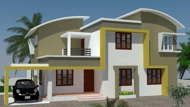 Kerala Exterior Painting Home Design House Designs