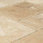 Kesir Travertine Tile Antique Pattern Sets Denizli Beige