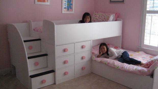 Kids Amazing Beds Three Children