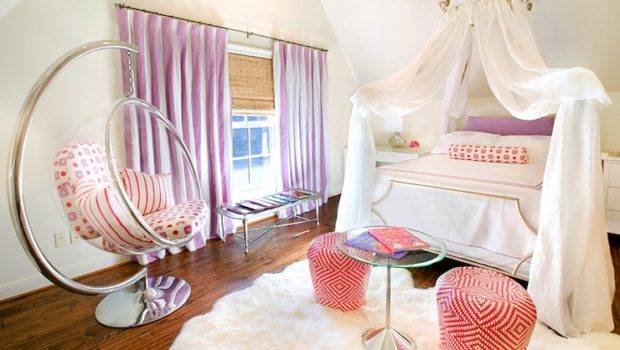 Kids Bed Canopy Contemporary Girl Room Tracy Hardenburg Designs