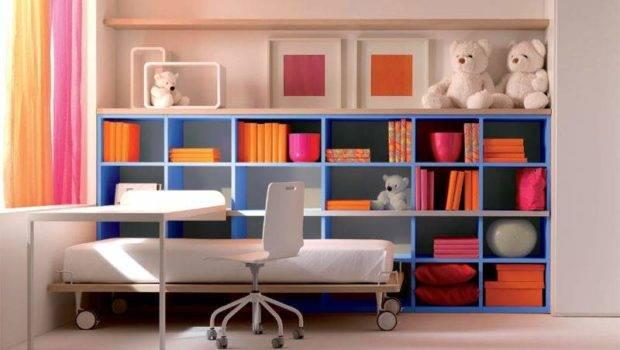 Kids Room Cool Bookshelves Design Felmiatika