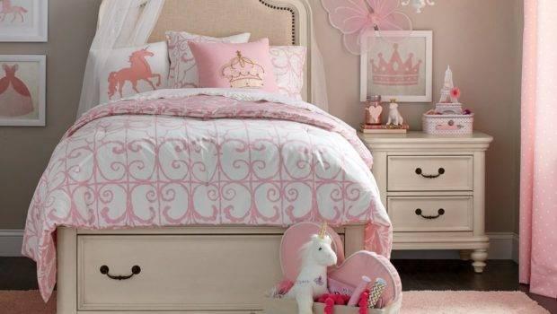 Kids Room Traditional Pink Color Girls Bedroom Design