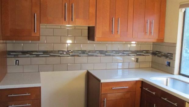 Kitchen Backsplash Subway Tiles Closet White Granite