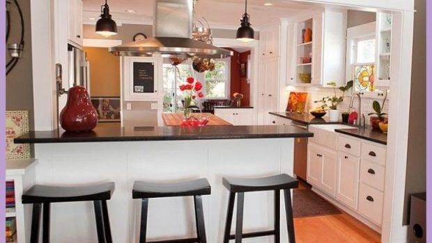 Kitchen Breakfast Bar Design Ideas Homedesigns