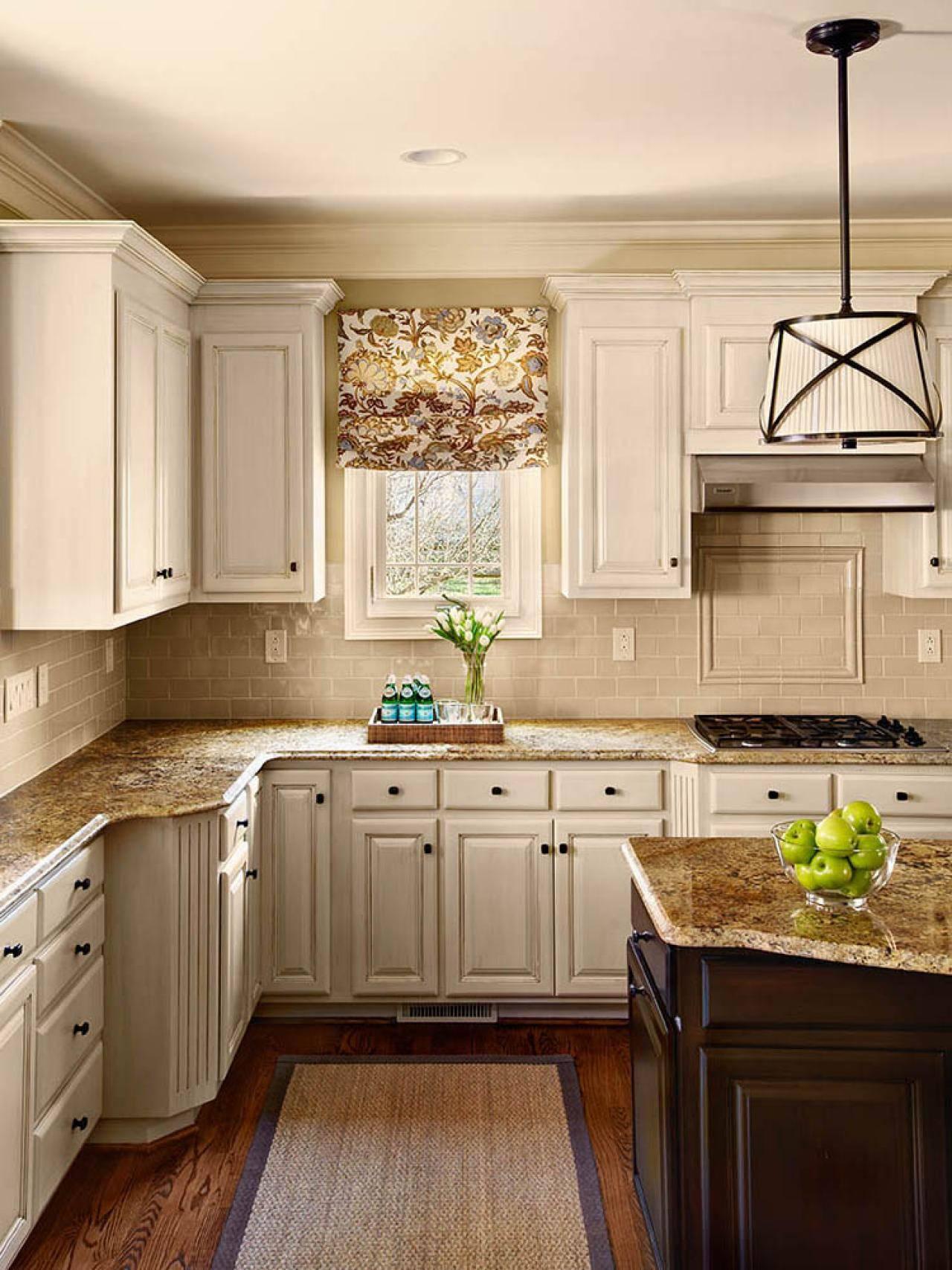 Kitchen Cabinet Paint Colors Ideas Hgtv - Cute Homes | #98391