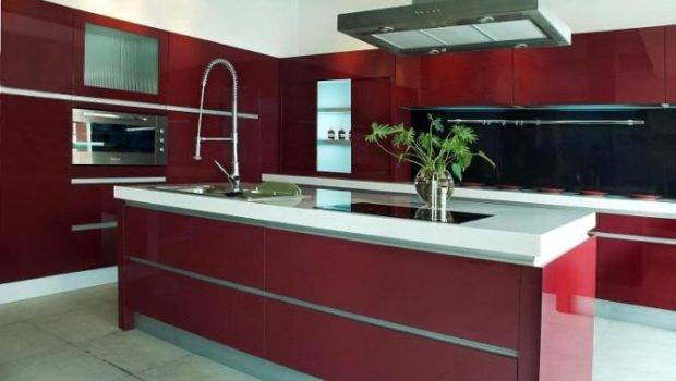 Kitchen Cabinets European Style Modern Painted