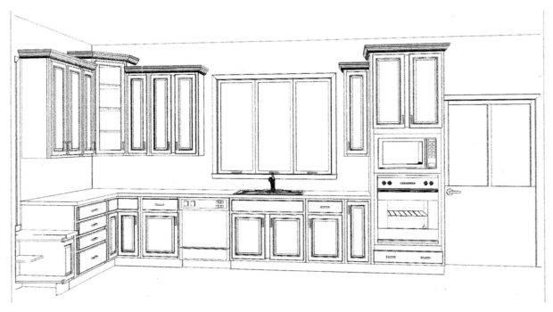 Kitchen Cabinets Layouts Layout