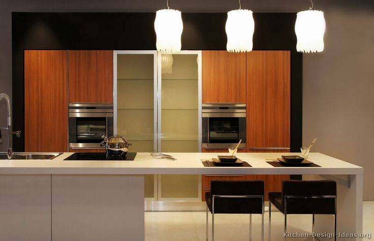 Kitchen Day Asian Design Exotic Wood Cabinets - Cute Homes ...