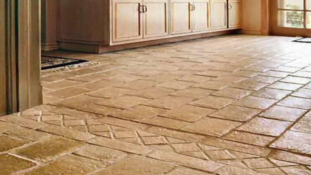 Kitchen Flooring Options Tile Ideas Dark Cabinets Best