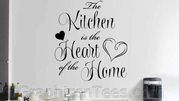 Kitchen Heart Home Wall Sticker Dining