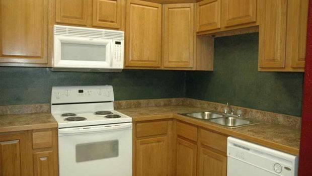 Kitchen Paint Colors Oak Cabinets Blue