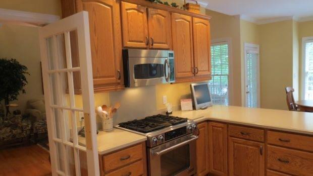Kitchen Paint Colors Oak Cabinets