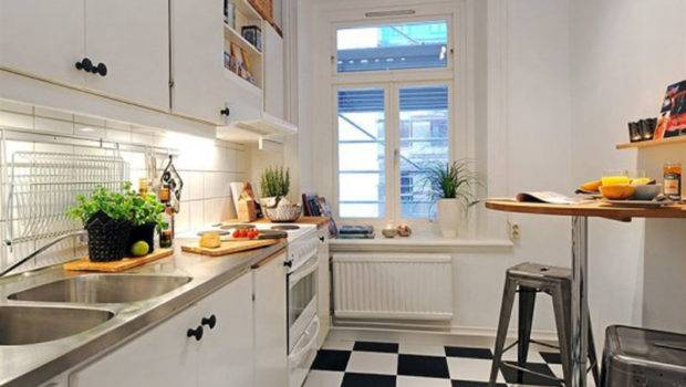 Kitchen Studio Apartment Plans Decoration Ideas Set
