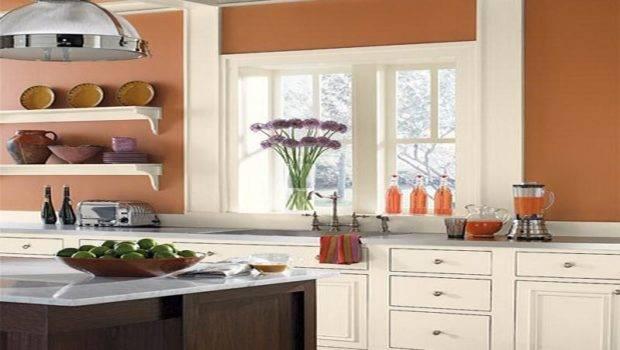 Kitchen Wall Colors Ideas Nice Orange