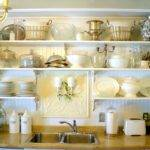 Kitchen Wall Mounted Shelf Inches Mount Shelves