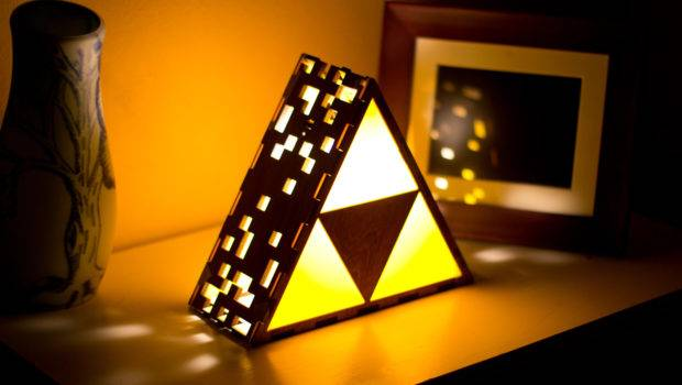 Lamp Set Golden Triangles Grant Your Wildest Wishes
