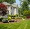 Landscaping Ideas Front Yard Curves Colors Trees