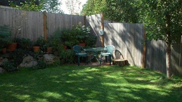 Landscaping Ideas Small Yard Corner Backyard Landscape