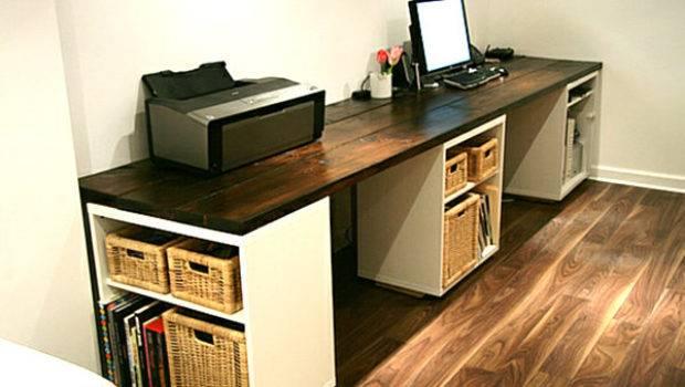 Large Diy Desk Storage Shelves Decoist