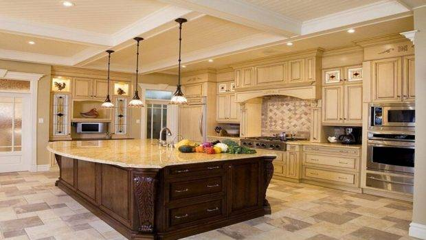 Large Kitchen Luxury Design Ideas