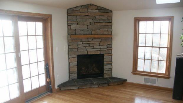 Large Stone Corner Fireplace Design Ideas Fireplaces