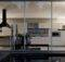Large Warmer Kitchen Night Modern Kitchens Elmar Cucine Pict