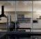 Large Warmer Kitchen Night Modern Kitchens Elmar Cucine Pict