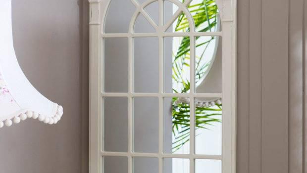 Large Window Wall Mirror Lyon Range Melody Maison